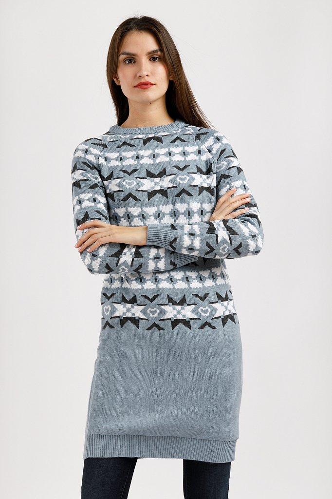 Платье женское, Модель W19-12106, Фото №3