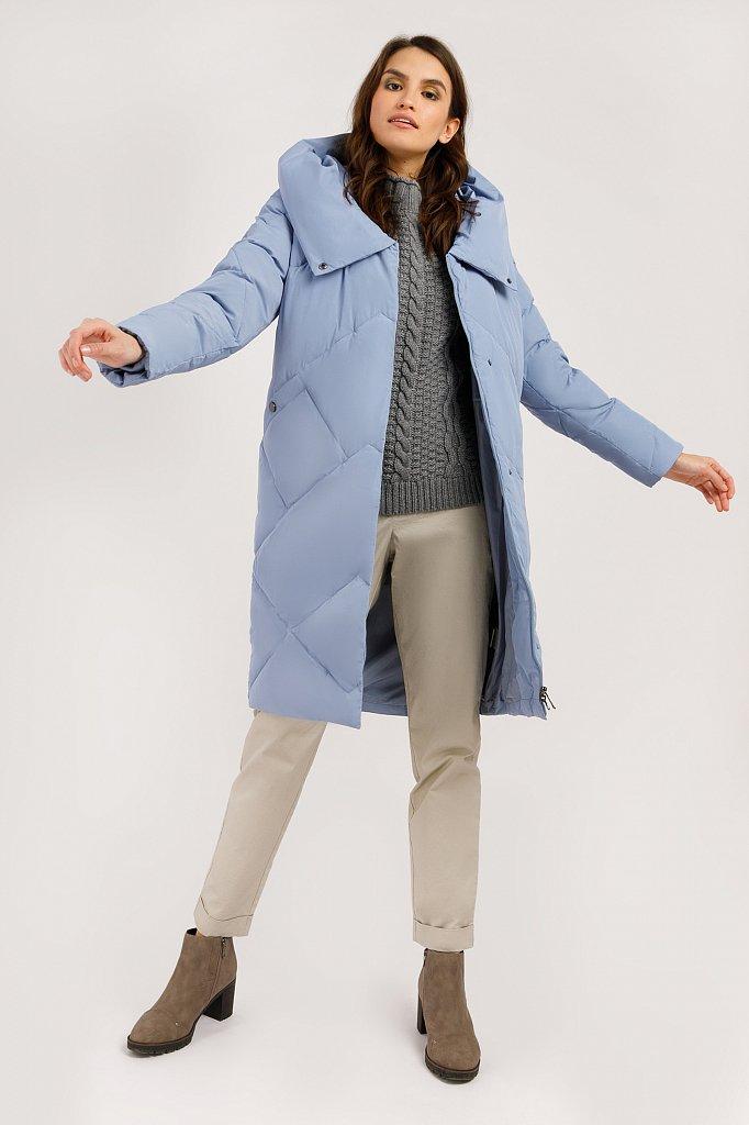Пальто женское, Модель W19-11034, Фото №2