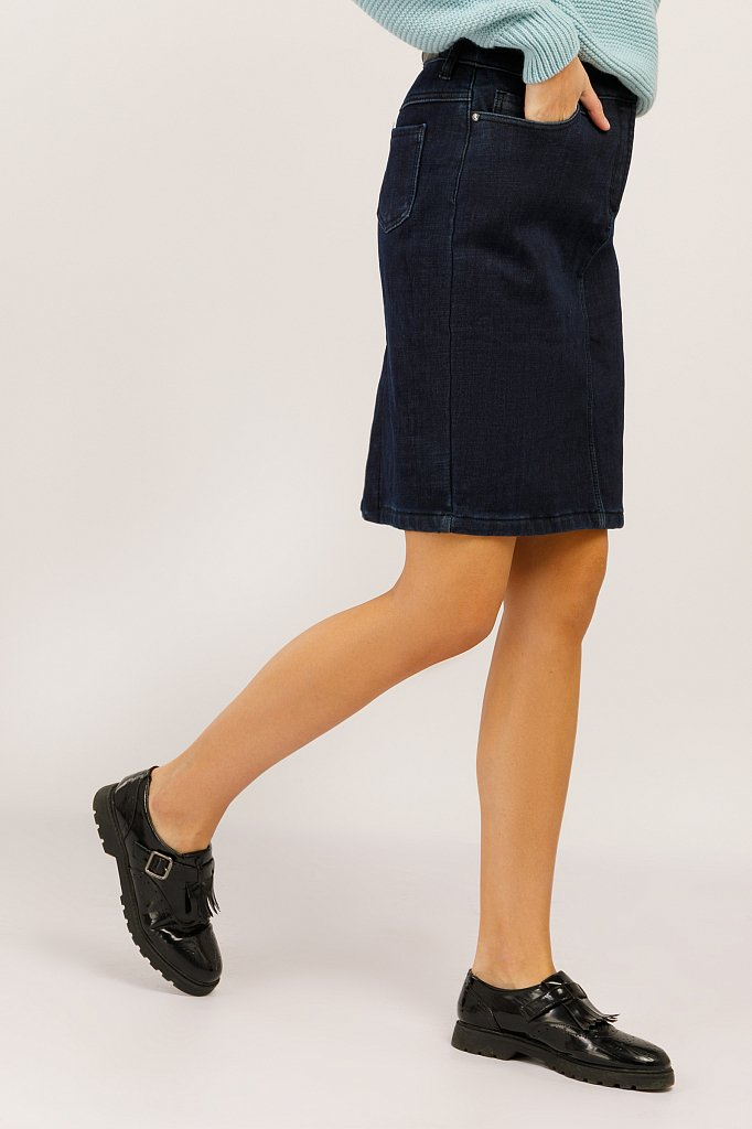 Юбка женская, Модель W19-15002, Фото №3