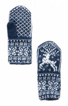 Варежки женские W19-11301