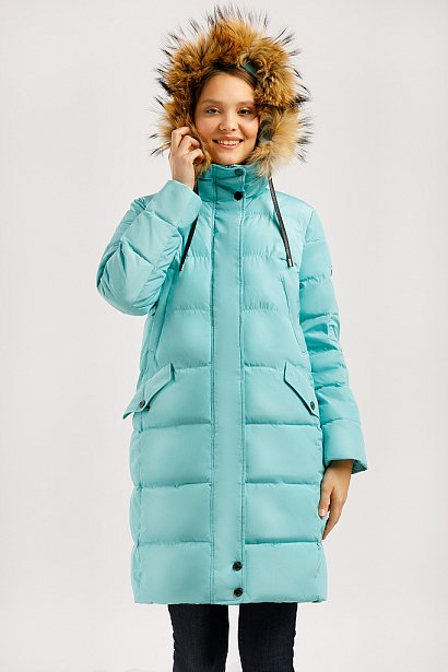 Пальто женское, Модель W19-11029, Фото №1