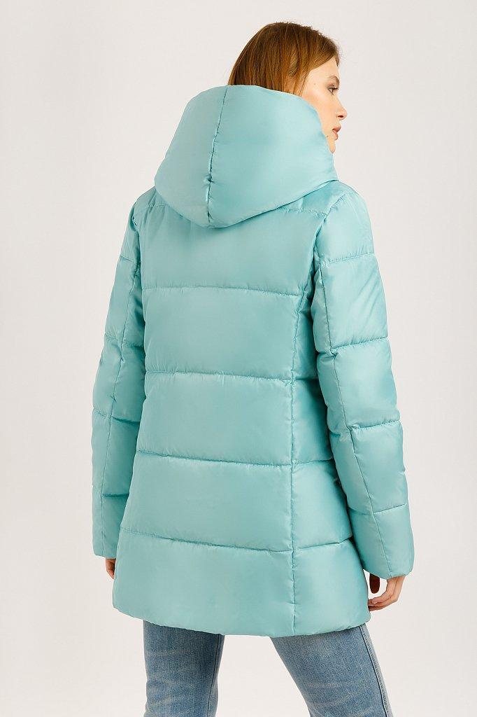 Куртка женская, Модель W19-11019, Фото №4