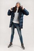 Полупальто женское, Модель W19-12043, Фото №3