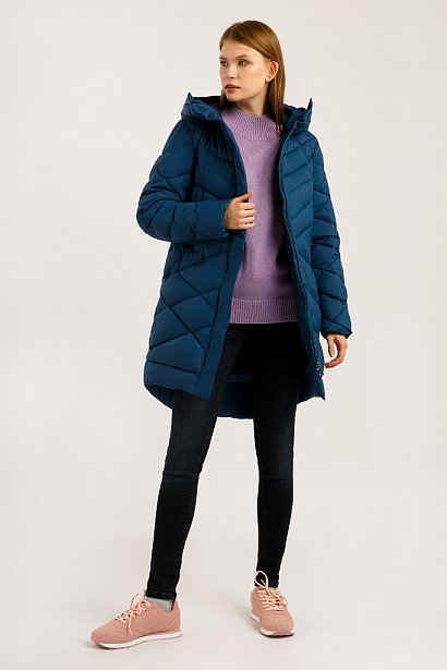 Пальто женское, Модель W19-12032, Фото №2