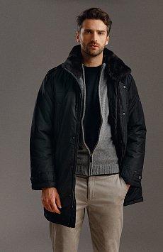 Пальто мужское, Модель W19-21008, Фото №1