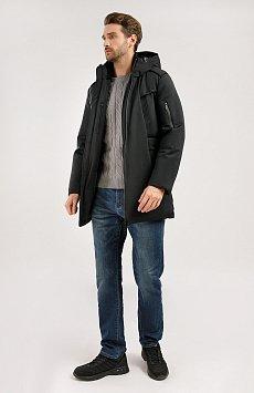 Полупальто мужское, Модель W19-42016, Фото №2