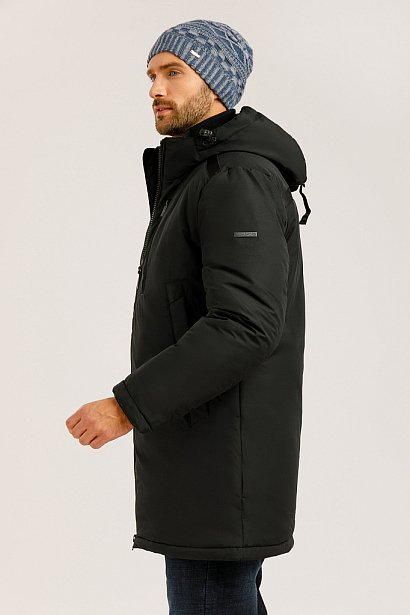 Пальто мужское, Модель W19-21002, Фото №3