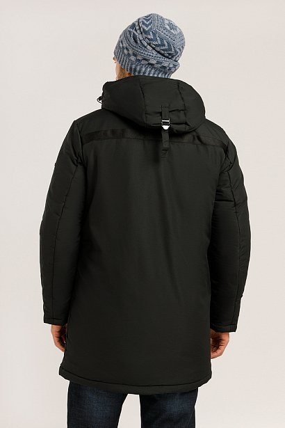 Пальто мужское, Модель W19-21002, Фото №4
