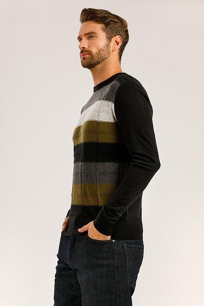 Джемпер мужской, Модель W19-21101, Фото №3