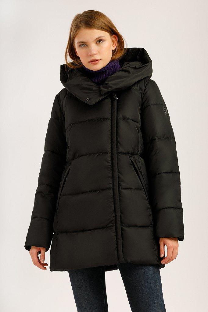 Куртка женская, Модель W19-11019, Фото №1