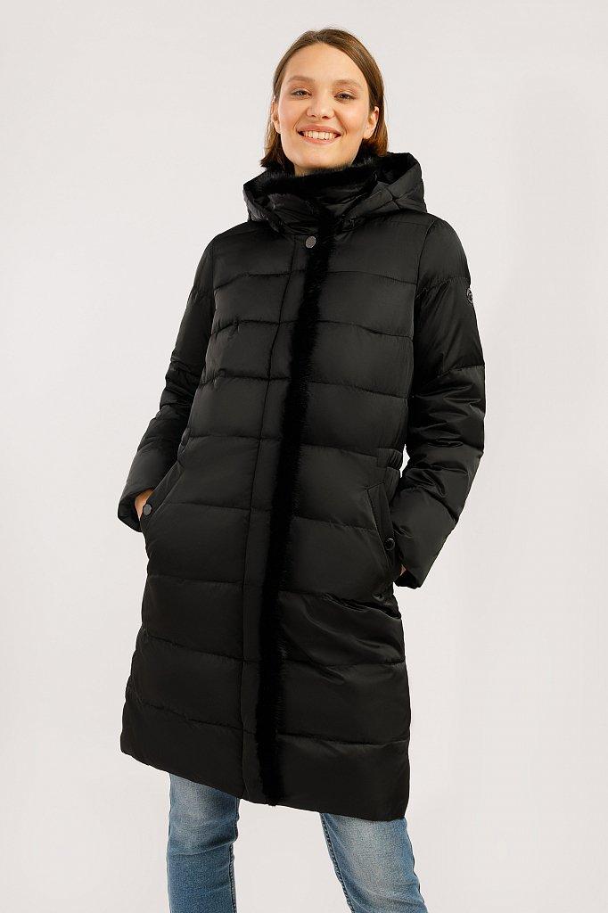 Пальто женское, Модель W19-11033, Фото №1