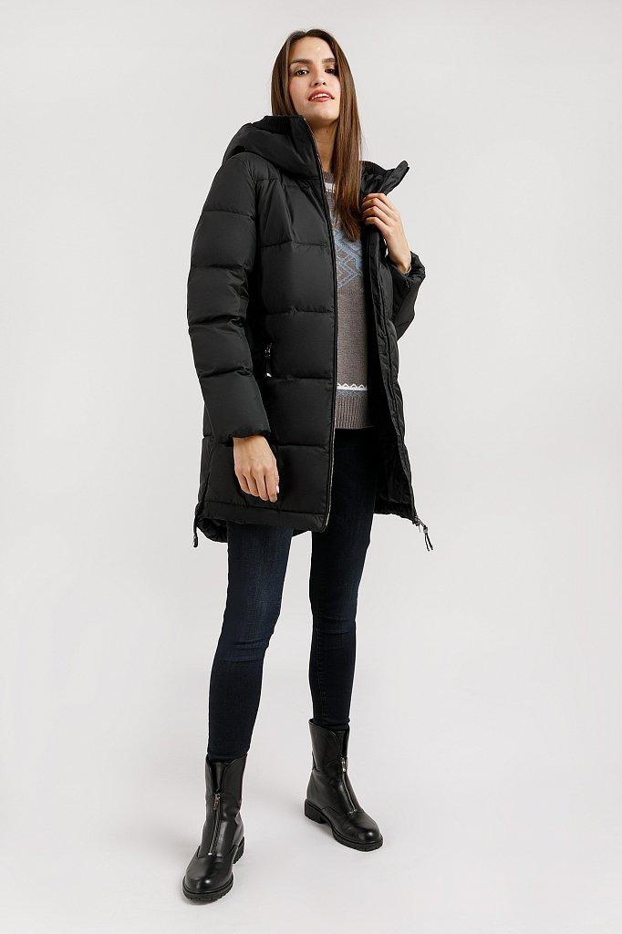 Пальто женское, Модель W19-12004, Фото №2