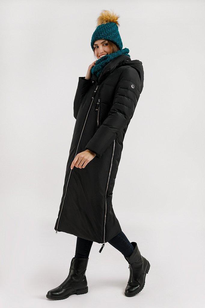 Пальто женское, Модель W19-12012, Фото №3
