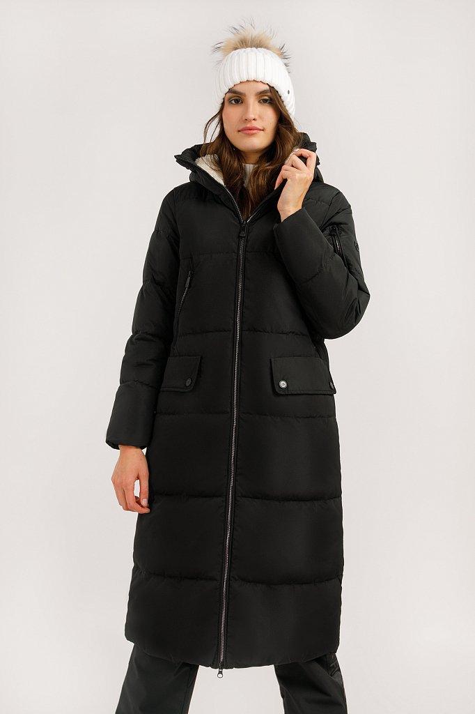 Пальто женское, Модель W19-12042, Фото №1