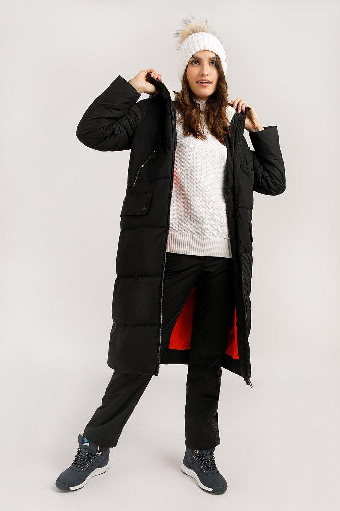 Пальто женское, Модель W19-12042, Фото №3