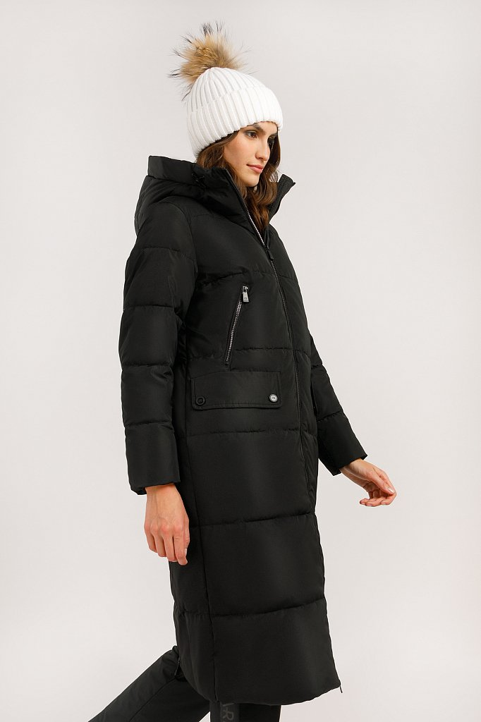 Пальто женское, Модель W19-12042, Фото №4