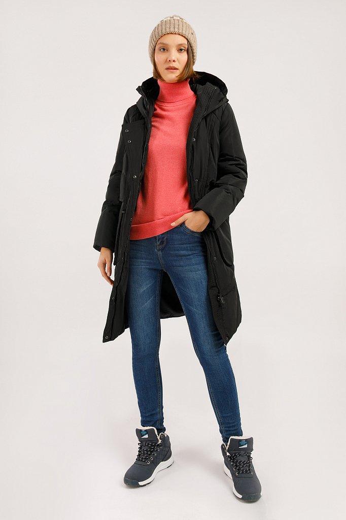 Пальто женское, Модель W19-12044F, Фото №2