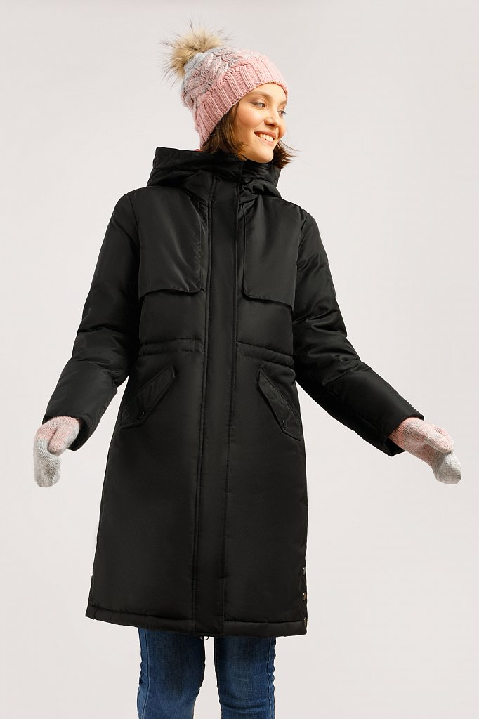 Пальто женское, Модель W19-12045F, Фото №1
