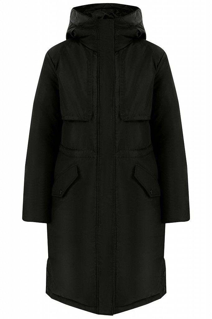 Пальто женское, Модель W19-12045F, Фото №6