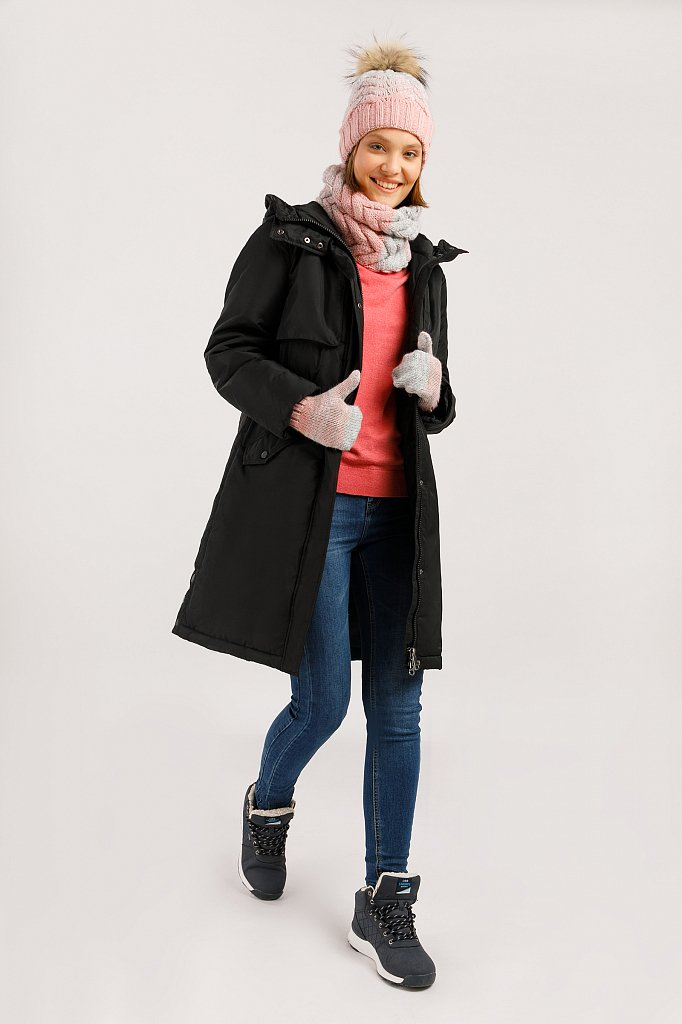 Пальто женское, Модель W19-12045F, Фото №2