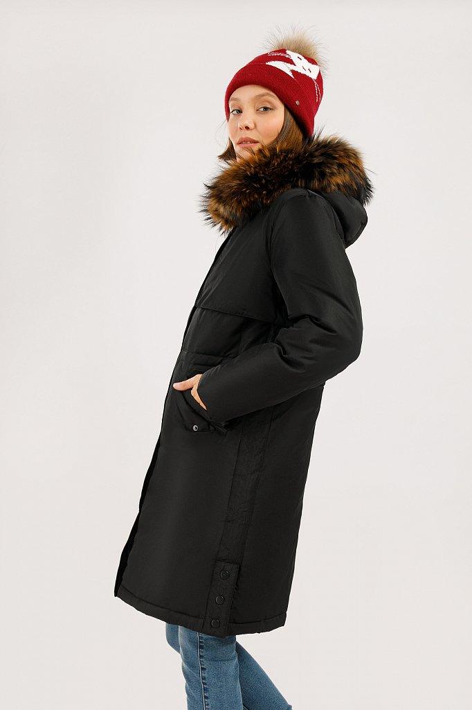 Пальто женское, Модель W19-12045, Фото №3