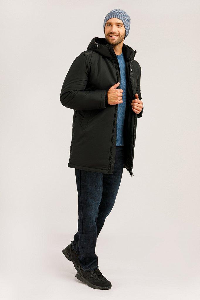 Пальто мужское, Модель W19-21002, Фото №2