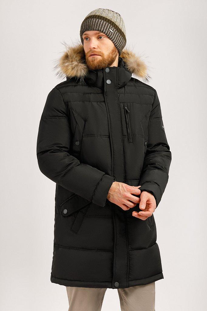 Пальто мужское, Модель W19-21004, Фото №1