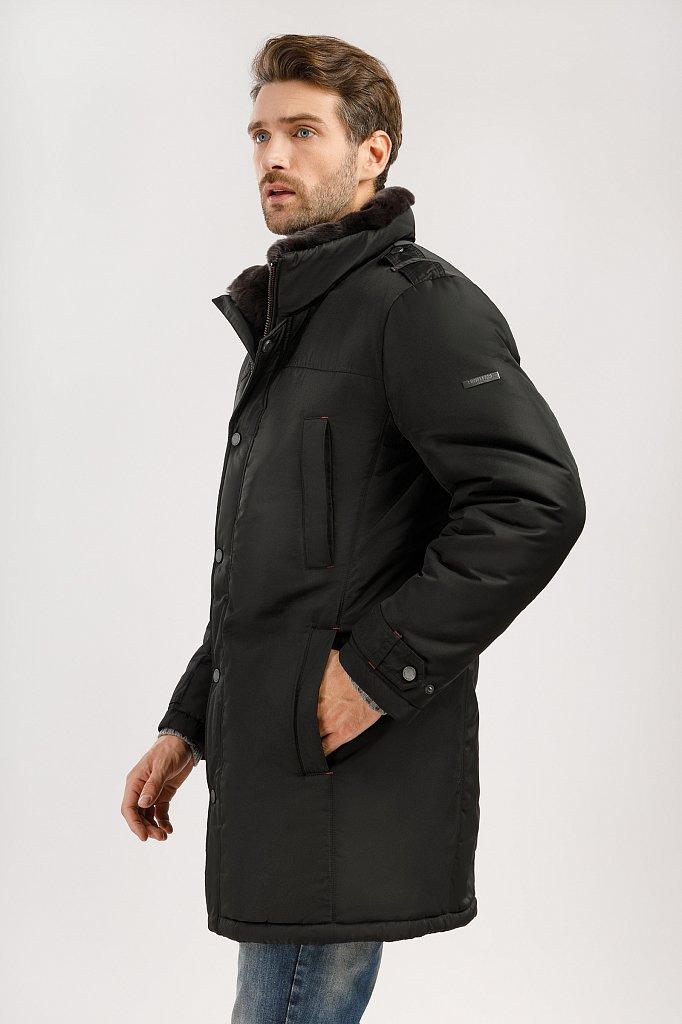 Пальто мужское, Модель W19-21008, Фото №4