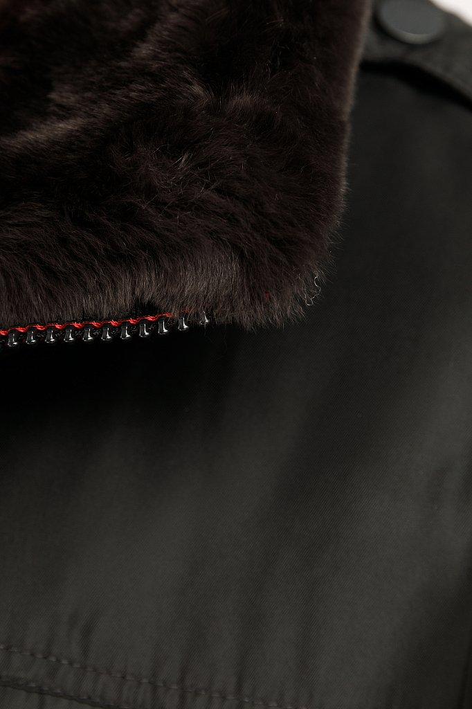 Пальто мужское, Модель W19-21008, Фото №7
