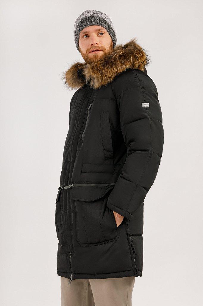 Пальто мужское, Модель W19-22003, Фото №3