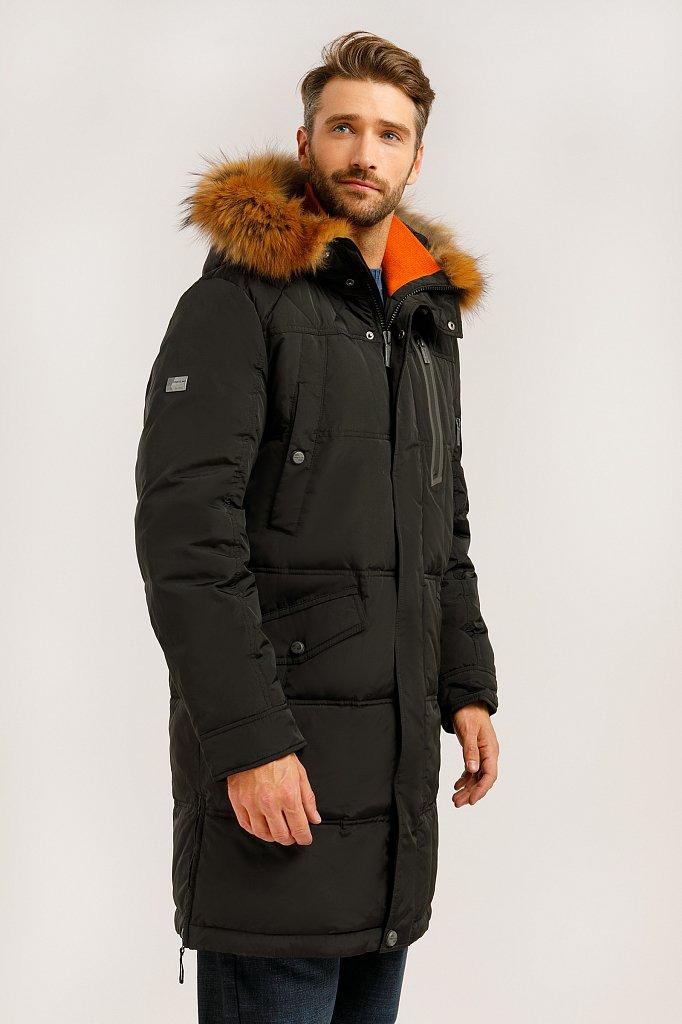 Пальто мужское, Модель W19-22007, Фото №3