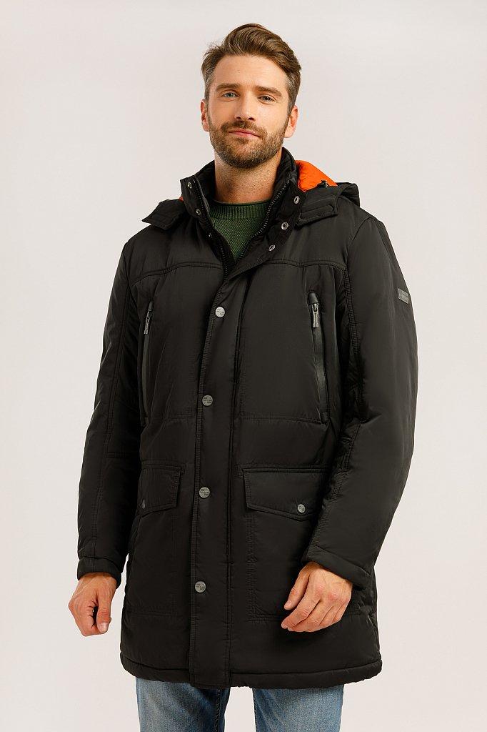 Пальто мужское, Модель W19-22012F, Фото №1