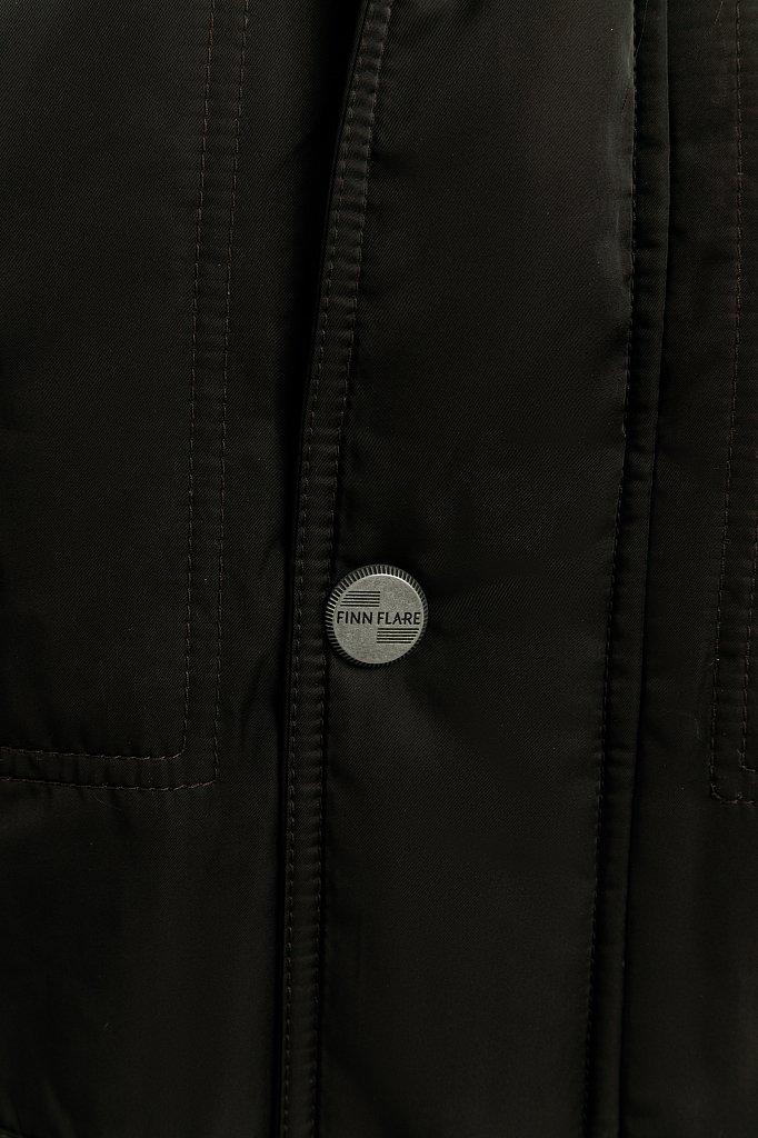 Пальто мужское, Модель W19-22012F, Фото №3