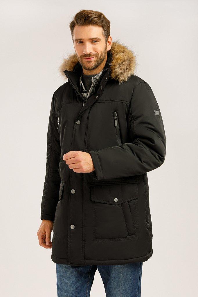 Пальто мужское, Модель W19-22012, Фото №1