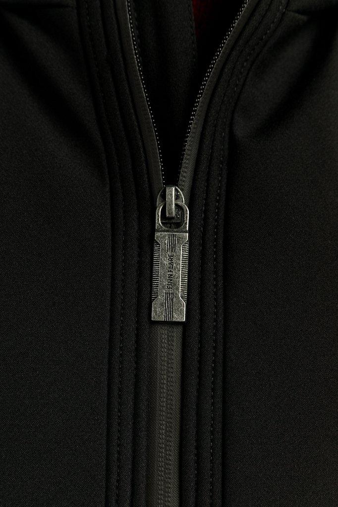 Полупальто мужское, Модель W19-22025, Фото №4