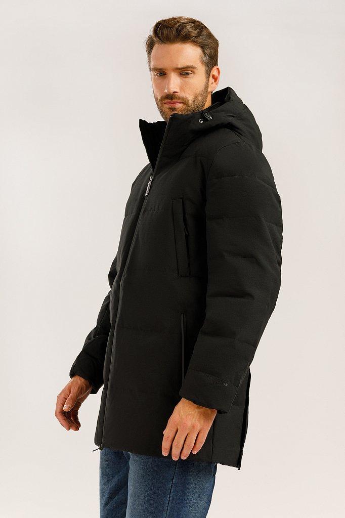 Полупальто мужское, Модель W19-22026, Фото №3