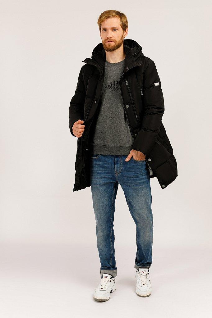 Пальто мужское, Модель W19-22027F, Фото №2