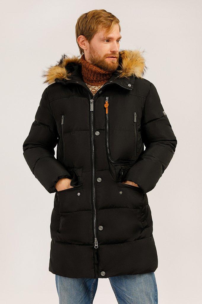 Пальто мужское, Модель W19-22027, Фото №1