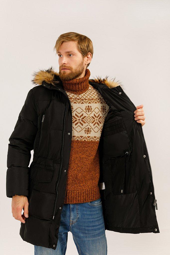 Пальто мужское, Модель W19-22027, Фото №5