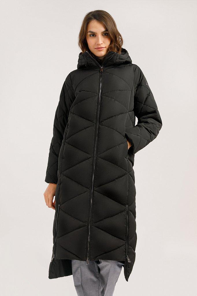 Пальто женское, Модель W19-32006, Фото №1