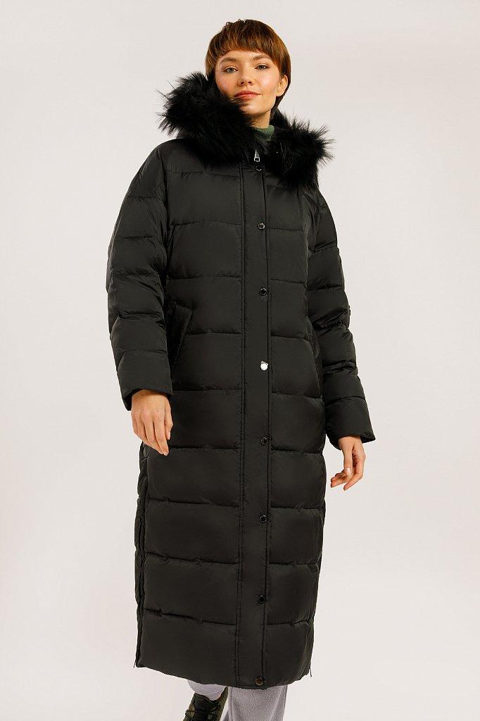 Пальто женское, Модель W19-32015, Фото №1
