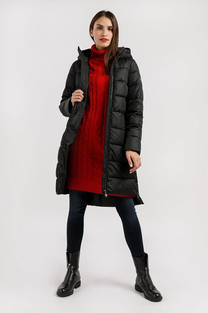 Пальто женское, Модель W19-32017, Фото №2