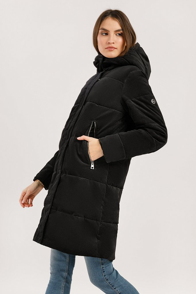 Пальто женское, Модель W19-32027, Фото №3