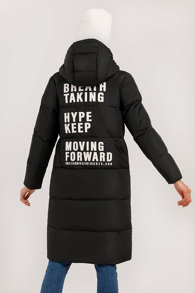 Пальто женское, Модель W19-32029, Фото №4