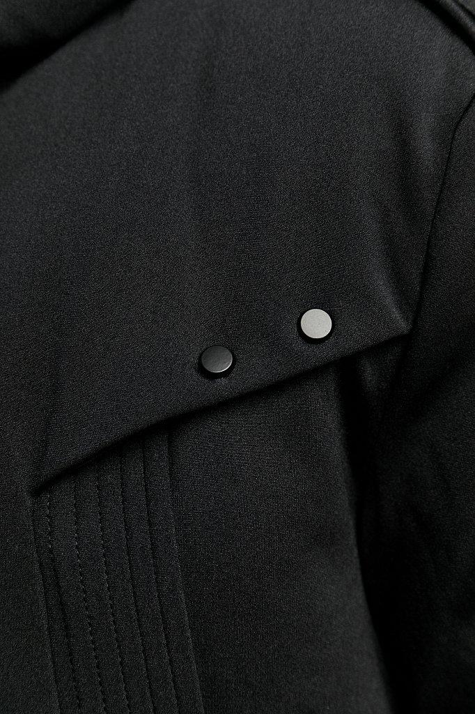 Полупальто мужское, Модель W19-42016, Фото №5