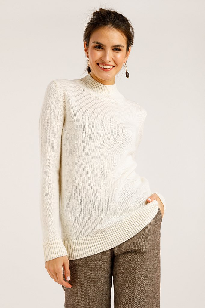 Джемпер женский, Модель W19-11109, Фото №1