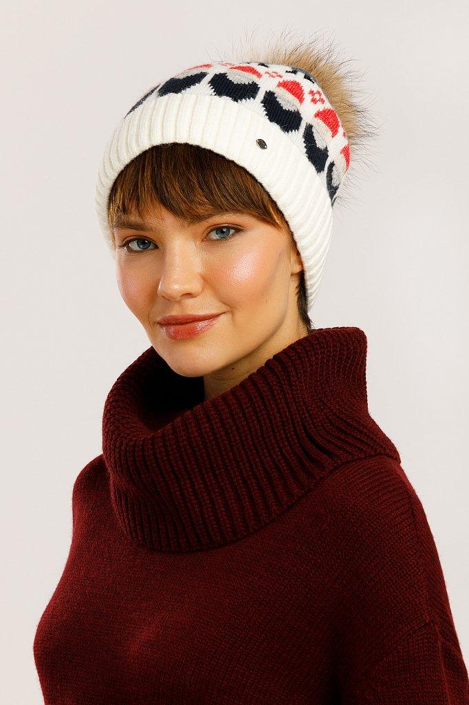 Шапка женская, Модель W19-32134, Фото №2