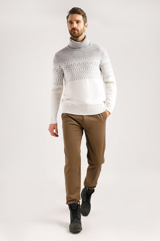 Джемпер мужской, Модель W19-42100, Фото №3