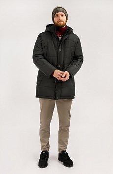 Пальто мужское, Модель W19-21012, Фото №2