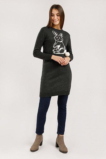 Платье женское, Модель W19-12133, Фото №2